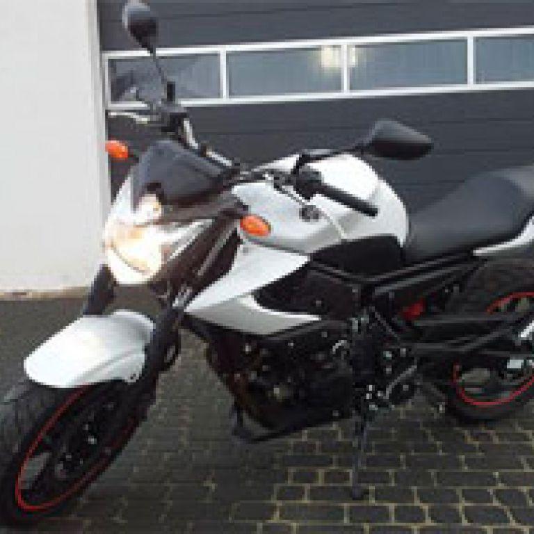 Motocykl egzaminacyjny - Yamaha XJ6N