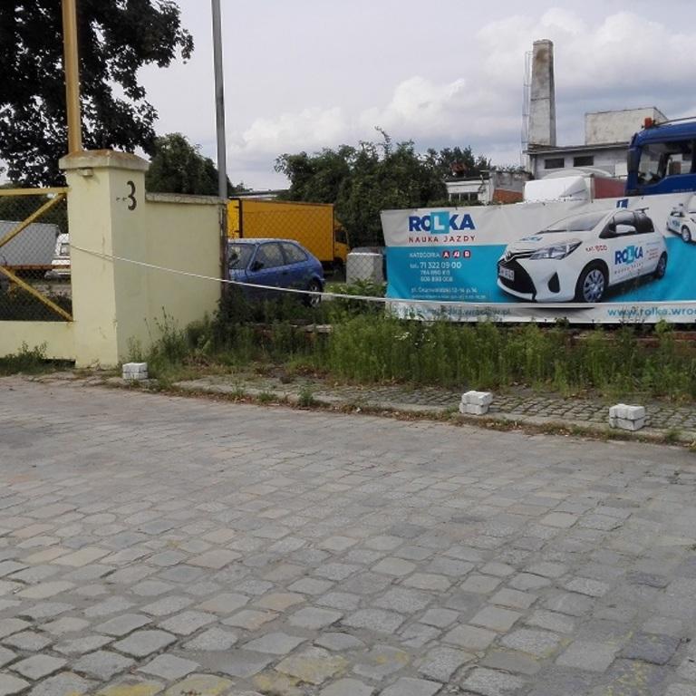Plac manewrowy ul. Robotnicza 3